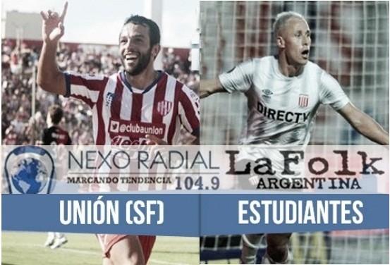 Estudiantes vs Unión Santa Fe en VIVO por la liga argentina por NEXO 104.9 Fm y La Folk Argentina