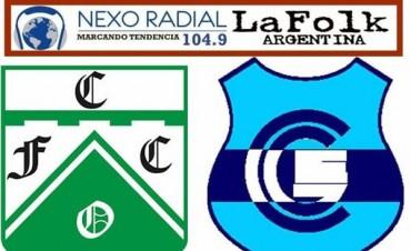Gimnasia visita esta noche a Ferro Carril Oeste 20:30 en VIVO por NEXO 104.9 Fm y LA FOLK ARGENTINA