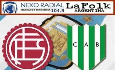 Banfield, que quiere arrimarse a Boca, recibirá a Lanús 16:00 Hs en VIVO por NEXO 104.9 y LA FOLK ARGENTINA