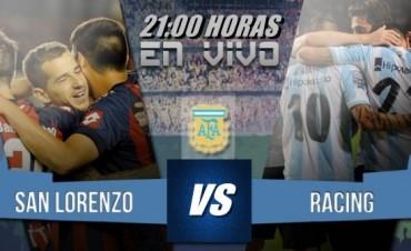 San Lorenzo quiere la recuperación ante Racing desde las 21 Hs por NEXO 104.9 Fm y La Folk Argentina