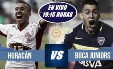 Boca quiere acercarse aún más al título: visita a Huracán 19 Hs en VIVO por NEXO 104.9 Fm y La Folk Argentina