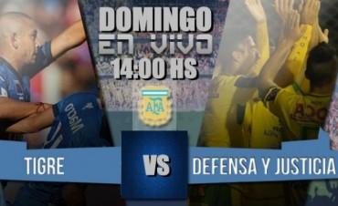 Defensa y Justicia quiere soñar con la Sudamericana ante Tigre 14 Hs en VIVO por NEXO 104.9 Fm y La Folk Argentina