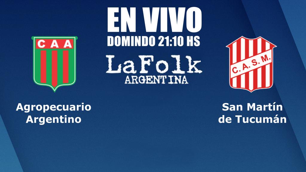 EN VIVO: 21:10, San Martín de Tucumán visita a Agropecuario en el inicio de las semifinales por La Folk Argentina y Gen TV