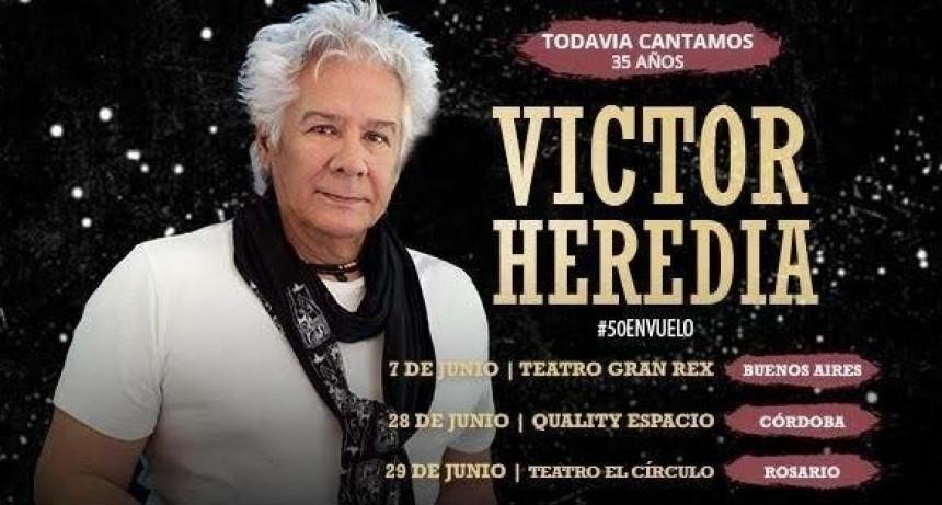 """Víctor Heredia festejará 35 años de la publicación de su himno """"Todavía Cantamos"""""""