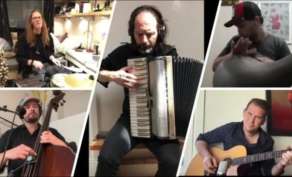 El Chango Spasiuk empezó a grabar un disco en solitario desde su casa