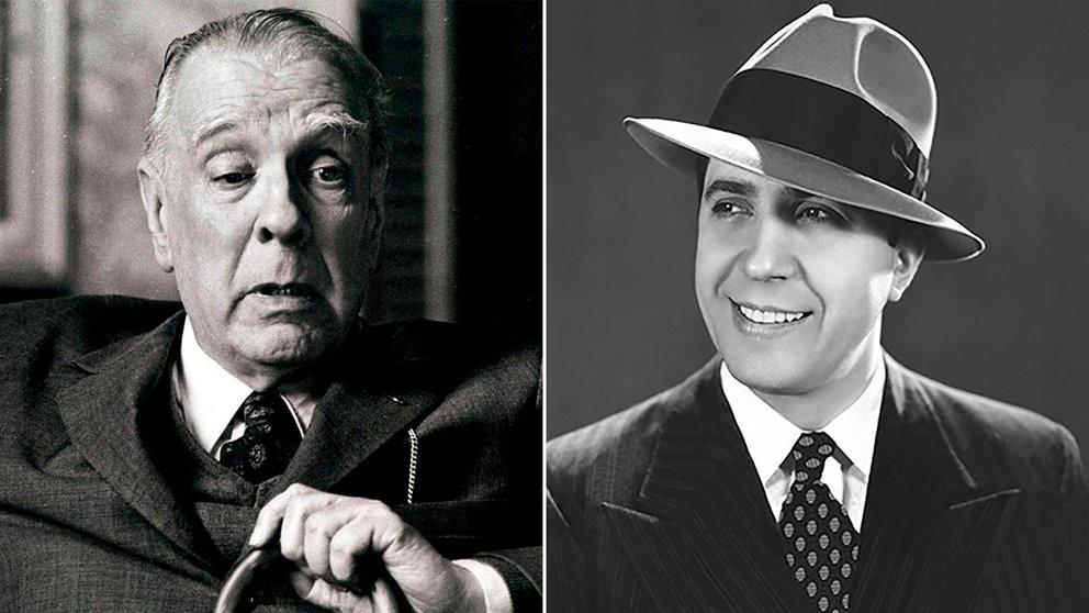 Borges, Gardel y la polémica por la verdadera identidad del tango