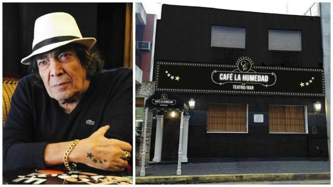 Cacho Castaña abrirá su propio teatro bar y usará el nombre de su mítico tangazo Café La Humedad
