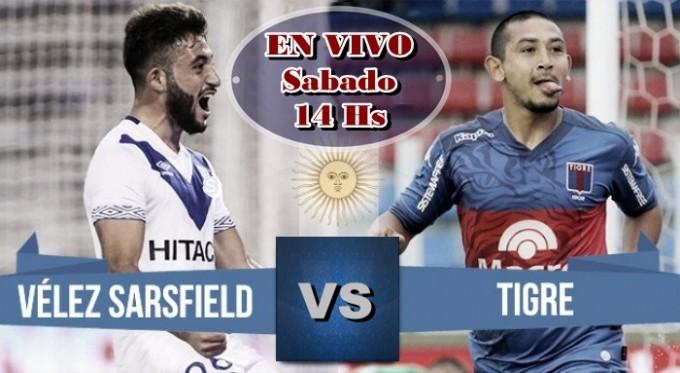 """Tigre y Vélez juegan la revancha de su """"clásico"""" con el descenso de reojo en VIVO por NEXO 104.9 Fm  y La Folk Argentina"""