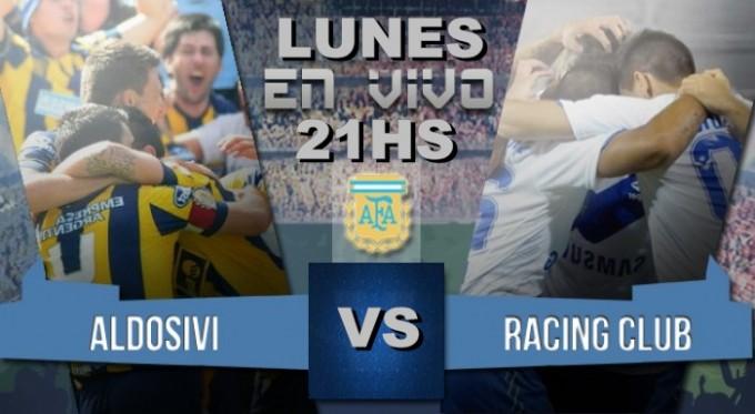 Racing vs Aldosivi hoy, 21:15 Estadio Presidente Perón en VIVO por NEXO 14.9 Fm