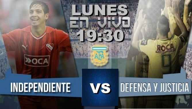Independiente contra Defensa y Justicia en VIVO este jueves por NEXO 104.9 Fm y La Folk Argentina