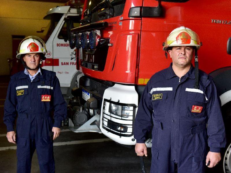 Con protocolos, los bomberos voluntarios de todo el país celebran su día