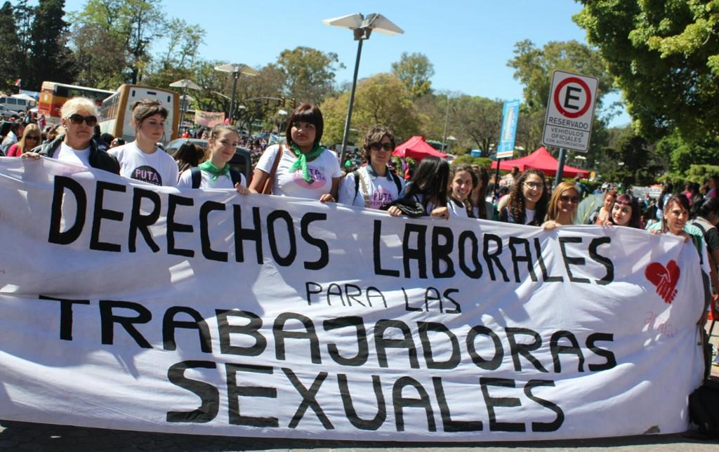 Meretrices reclaman acceso a derechos en el Día Mundial de la Trabajadora Sexual