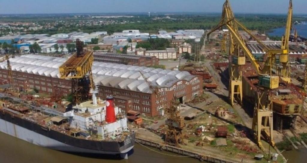 El Astillero Río Santiago construirá la compuerta flotante de Puerto Belgrano
