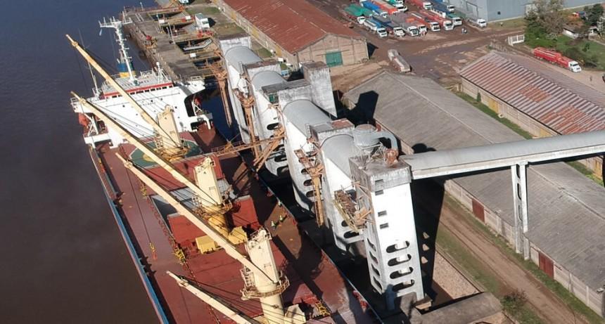 Los puertos entrerrianos implementan la Ventanilla Única de Comercio Exterior