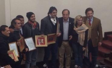 Los Nocheros recibieron el reconocimiento al Mérito Artístico