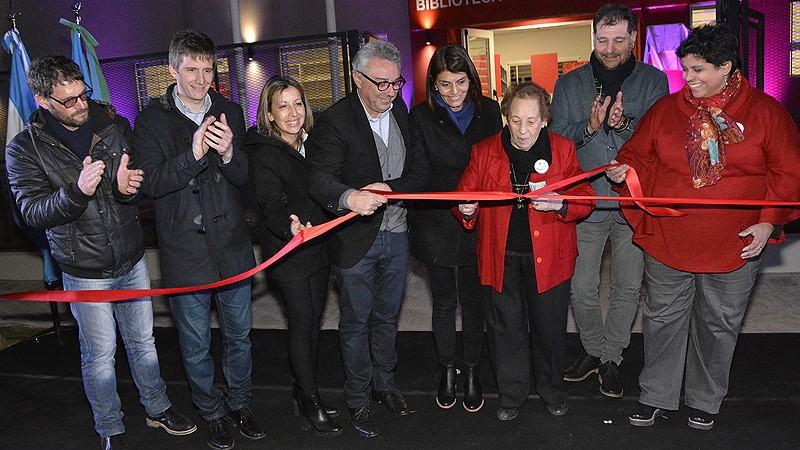 Tigre inauguró la nueva sede de la Biblioteca y Centro Cultural de El Talar