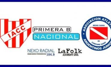 Argentinos vs Instituto en VIVO Primera B Nacional fecha 45 por NEXO 104.9 Fm y La Folk Argentina