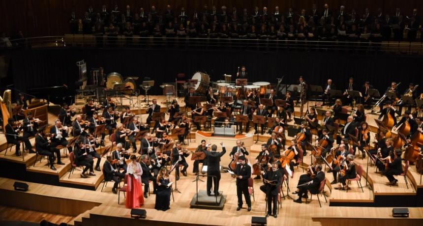 Orquesta de Cámara del Congreso de la Nación, el jueves 18 de julio, en la Sala Sinfónica del CCK