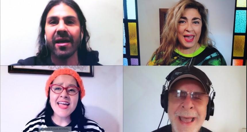 """Para celebrar la Independencia, Radio Nacional lanzó un video y audio de """"En el país de la libertad"""""""