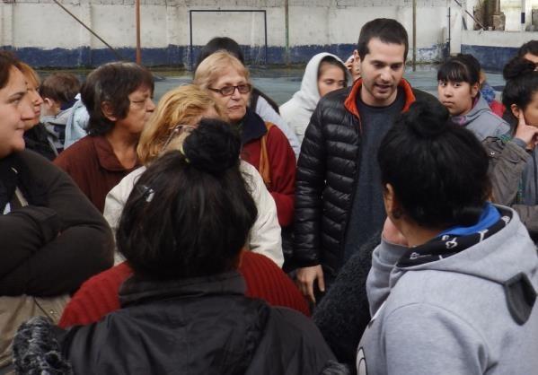 Szpolski y Gianella recorrieron los puntos de atención de ANSES en Tigre