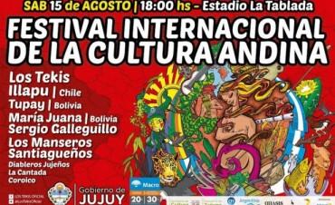 Los Tekis Illapu y María Juana engalanarán el primer Festival de la Cultura Andina en Jujuy