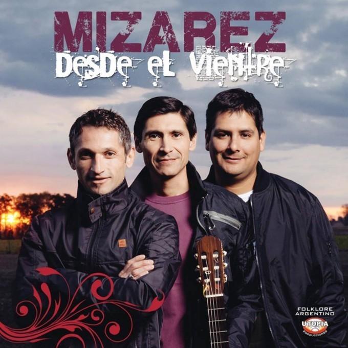 """El grupo folklórico Mizarez presento su nuevo material """"Desde el Vientre"""" en Baradero"""