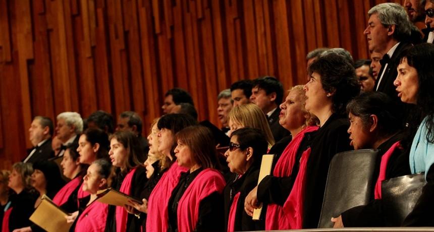 Coro Polifónico Nacional de Ciegos en la UTN