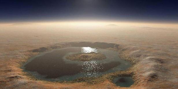 La NASA confirmó que hay agua líquida en Marte