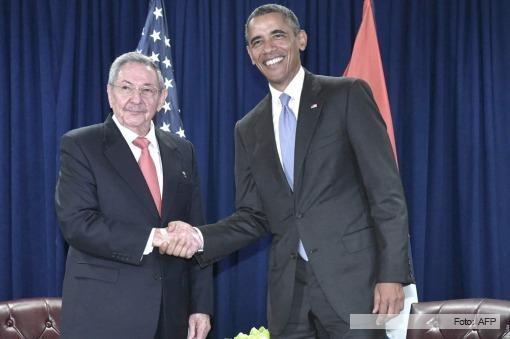 Obama y Castro se reúnen en una nueva e histórica cumbre en Nueva York