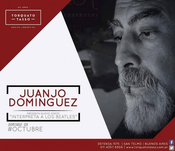 """Juanjo Dominguez presenta su nuevo disco """"Interpreta a Los Beatles"""" en Torquato Tasso"""