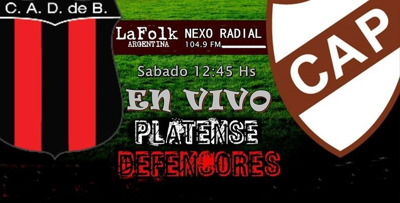Platense y Defensores, el gran duelo que abre la Primera B en VIVO por NEXO 104.9 Fm y La Folk Argentina