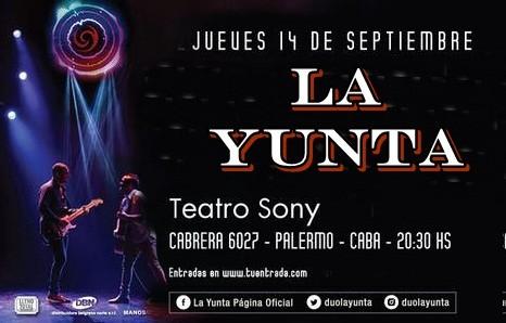 """El dúo más representativo de Tucumán de Julian y Gustavo """"La Yunta"""" en Buenos Aires presentando su último disco """"Vivo"""""""