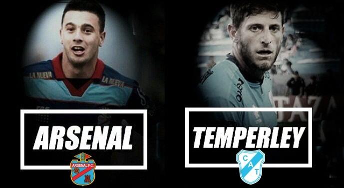 """Arsenal vs Temperley un """"duelo"""" de equipos apremiados por sumar en VIVO por NEXO 104.9 Fm y La Folk Argentina"""
