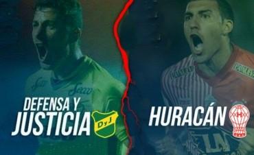 Huracán quiere seguir prendido ante Defensa y Justicia 19 Hs en VIVO por NEXO 104.9 Fm y La Folk Argentina
