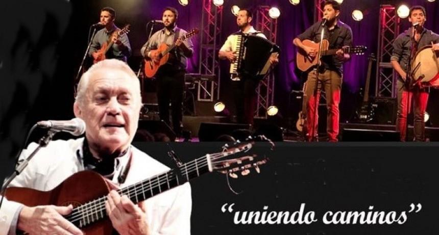 Pancho Figueroa presenta junto a Los Pampas Uniendo Caminos