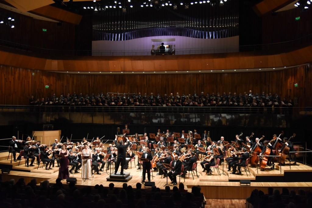 Conciertos de la Orquesta Sinfónica Nacional y el Coro Polifónico Nacional