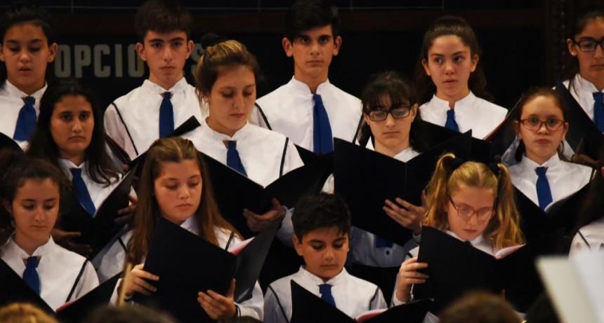 El Coro Nacional de Niños rinde homenaje a Vilma Gorini de Teseo