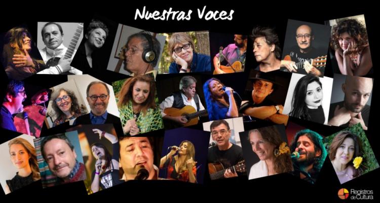 Registros de Cultura presenta Nuestras Voces Vol. 1,2 & 3
