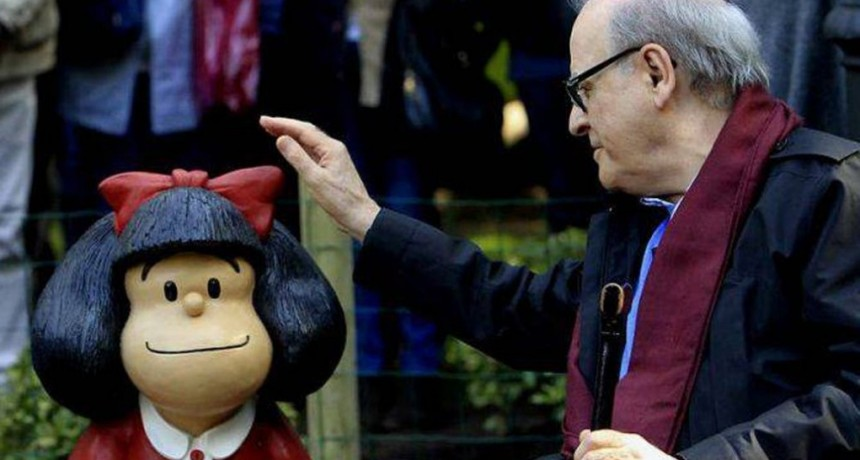 Murió Quino, el creador de Mafalda que trascendió las fronteras y conquistó el mundo con su peculiar sentido del humor