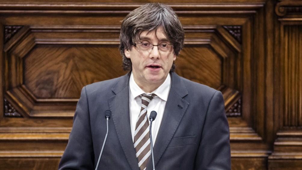 Detuvieron a Puigdemont en Cerdeña