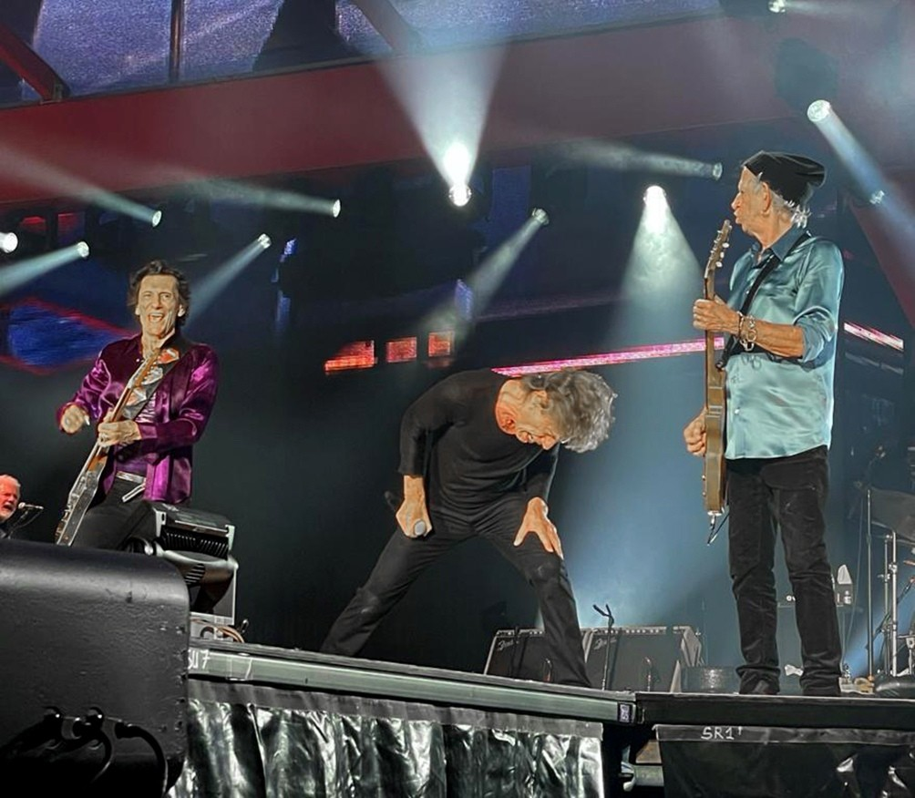 Mirá cómo fue la vuelta de Los Rolling Stones con el recuerdo de Charlie Watts