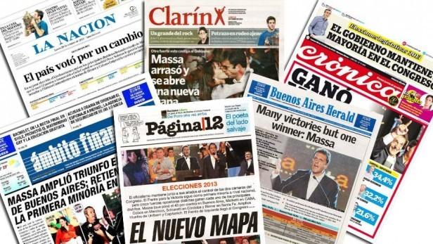 Lee aquí los principales diarios de la argentina