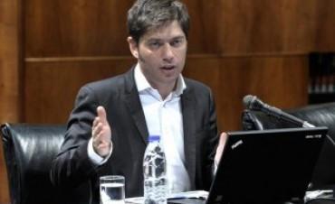 Kicillof ratificó que hoy se pagará el capital y los intereses del Boden 2015