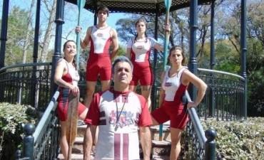 El Remo, obra que homenajea al deporte más representativo