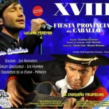 Una nueva edición de la Fiesta provincial del Caballo en Trancas Tucumán