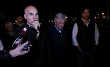 Larreta visitó Tigre y también pidió que Solá baje su candidatura