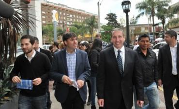 Szpolski y Bossio analizaron juntos las obras que faltan en Tigre