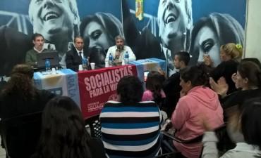 Jorge Rivas respaldó la candidatura de Szpolski