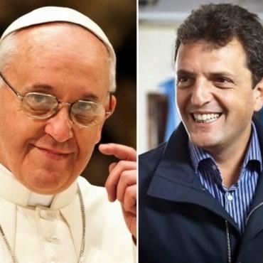 El biógrafo de Massa aseguró que el Papa lo llama el falso profeta