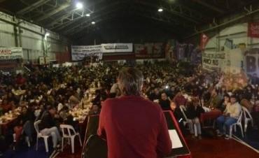 Del Caño encabezó multitudinario acto de la izquierda de zona norte